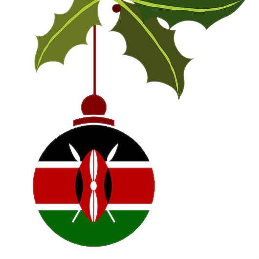 Kenia Weihnachtskugel