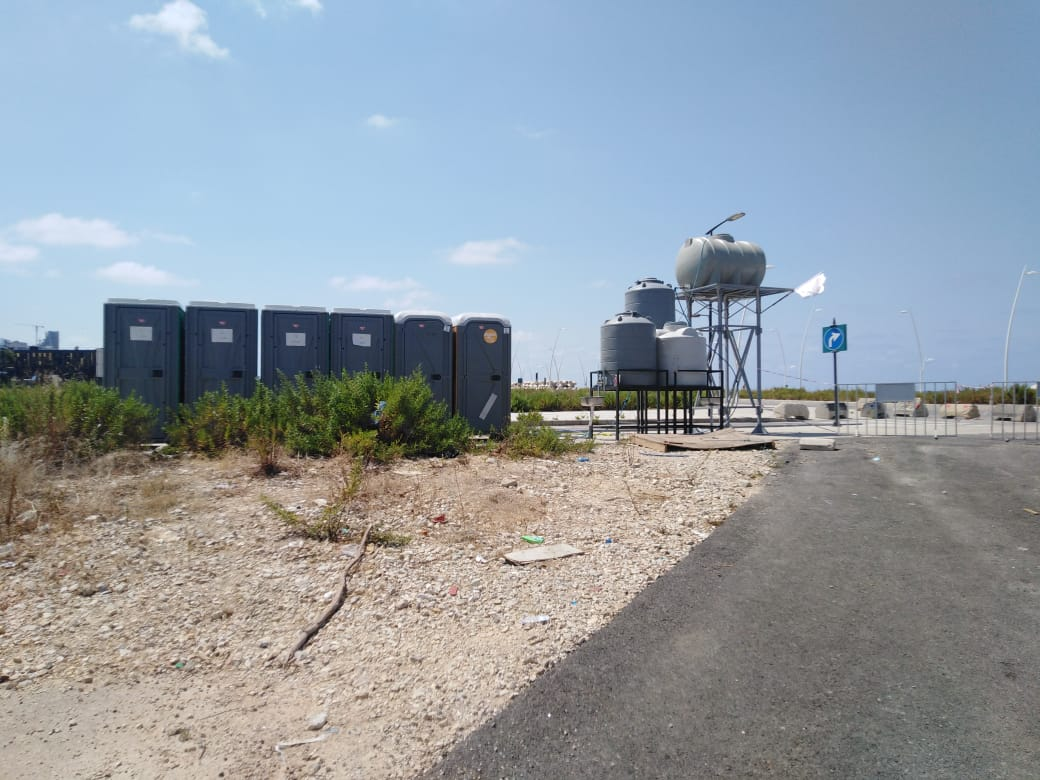 Toilets and water tanks