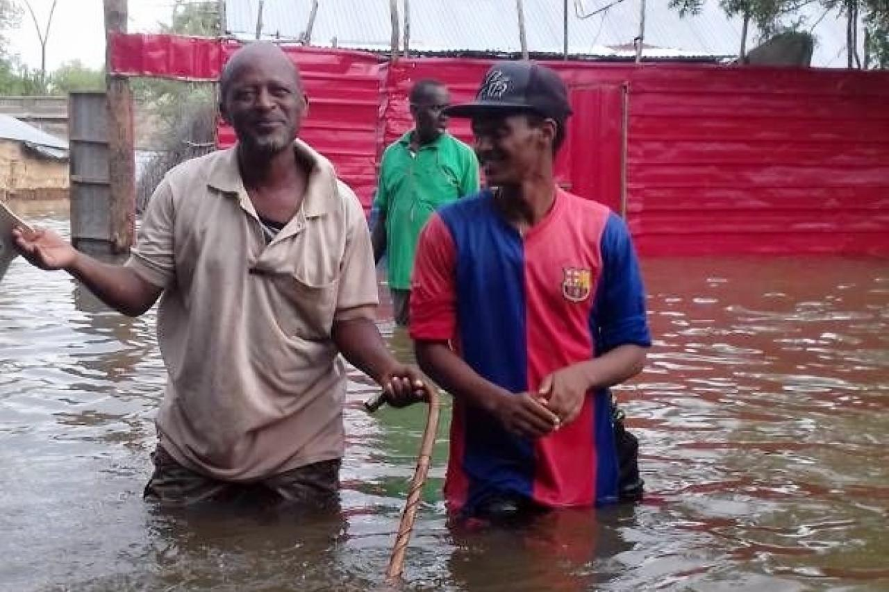 Emergency aid in flooded Somali region | arche noVa
